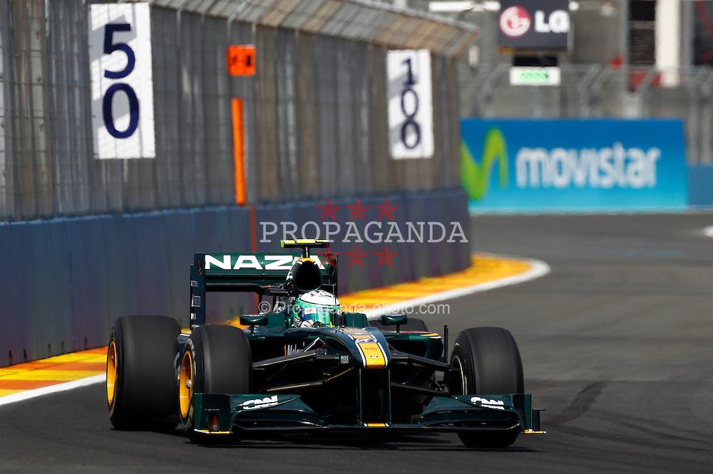 Motorsports / Formula 1: World Championship 2010, GP of Europe, 19 Heikki Kovalainen (FIN, Lotus F1 Racing),
