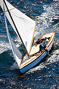 Surprise, S Class, Firefly, S Class, racing in the Museum of Yachting Classic Yacht Regatta.