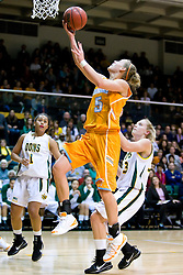 December 22, 2009; San Francisco, CA, USA;  Tennessee Lady Volunteers guard/forward Angie Bjorklund (5) shoots against the San Francisco Dons during the first half at War Memorial Gym.  Tennessee defeated San Francisco 89-34.