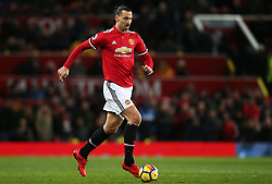 Zlatan Ibrahimovic of Manchester United - Mandatory by-line: Matt McNulty/JMP - 18/11/2017 - FOOTBALL - Old Trafford - Manchester, England - Manchester United v Newcastle United - Premier League