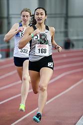 800, heat 6, Silverman, Brown<br /> BU Terrier Indoor track meet