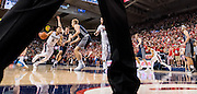 Gonzaga beat Saint Mary's Jan. 14 at the Kennel to become 17-0. (Gonzaga University photo by Edward Bell)