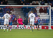 Inverness' Billy McKay scores from the penalty spot - Inverness Caledonian Thistle v Dundee in the Ladbrokes Scottish Premiership at Caledonian Stadium, Inverness.Photo: David Young<br /> <br />  - © David Young - www.davidyoungphoto.co.uk - email: davidyoungphoto@gmail.com