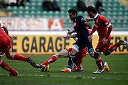 Bari (BA), 23-01-2011 ITALY - Italian Soccer Championship Day 21 - Bari VS Napoli..Pictured: Lavezzi (N)..Photo by Giovanni Marino/OTNPhotos . Obligatory Credit