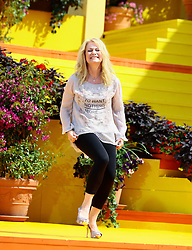 "14.06.2015, Europapark, Rust, GER, ARD TV Show, Immer wieder Sonntags, im Bild Nicole (Saengerin) // during the ARD TV Show ""Immer wieder Sonntags"" at the Europapark in Rust, Germany on 2015/06/14. EXPA Pictures © 2015, PhotoCredit: EXPA/ Eibner-Pressefoto/ Goermer<br /> <br /> *****ATTENTION - OUT of GER*****"