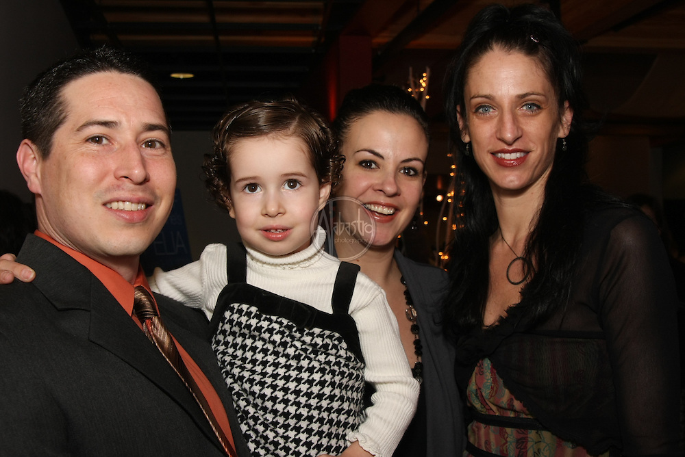 PNBS Eastside principal Nicholas Ade with his family and principal dancer Ariana Lallone at the Winter Wonderland Ball 2010.