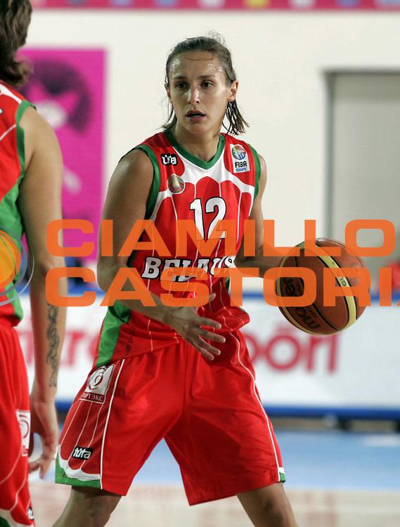 DESCRIZIONE : Chieti Italy Italia Eurobasket Women 2007 <br /> Quarti di finale Repubblica Ceca Bielorussia Czech Republic Belarus<br /> GIOCATORE : Natalia Marchanka<br /> SQUADRA : Bielorussia Belarus<br /> EVENTO : Eurobasket Women 2007 Campionati Europei Donne 2007 <br /> GARA : Repubblica Ceca Bielorussia Czech Republic Belarus<br /> DATA : 04/10/2007 <br /> CATEGORIA : Palleggio<br /> SPORT : Pallacanestro <br /> AUTORE : Agenzia Ciamillo-Castoria/H.Bellenger<br /> Galleria : Eurobasket Women 2007 <br /> Fotonotizia : Chieti Italy Italia Eurobasket Women 2007 Quarti di finale Repubblica Ceca Bielorussia Czech Republic Belarus<br /> Predefinita :