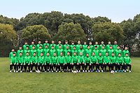 **EXCLUSIVE**Group shot of players of Beijing Sinobo Guoan F.C. for the 2018 Chinese Football Association Super League, in Shanghai, China, 22 February 2018.