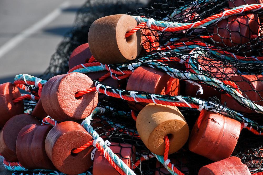 Fishing net in Blacks Harbour, New Brunswick