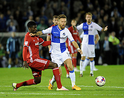 Matty Taylor of Bristol Rovers - Mandatory by-line: Neil Brookman/JMP - 11/08/2016 - FOOTBALL - Memorial Stadium - Bristol, England - Bristol Rovers v Cardiff City - EFL League Cup