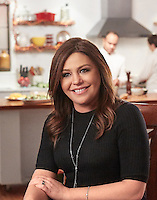 Food Network star Rachael Ray photographed on-set for Food Network's Celebrity Cook-Off by photographer Michel Leroy.