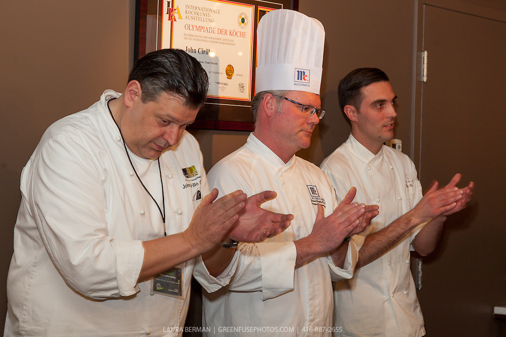 Aramark's Culinary Evening and Chef Competition at Cirillo's Culinary Academy,  March 5, 2015