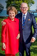 APELDOORN  - Prinses Margriet en prof. mr. Pieter van Vollenhoven portret  robin utrecht