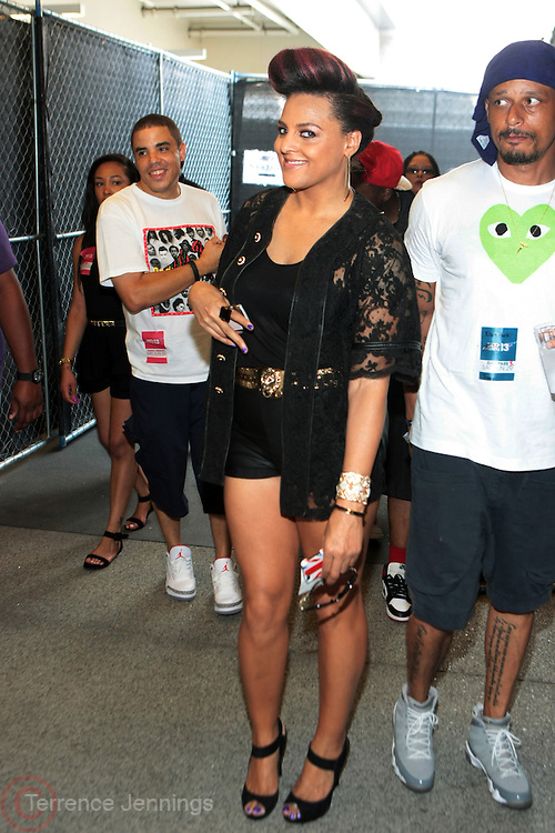 Los Angeles, CA-June 29:  Recording Artist Marsha Ambrosius attends the 2013 BET Experience held at LA Live on June 29, 2013 in Los Angeles, CA. © Terrence Jennings