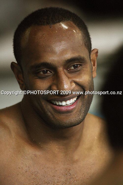 Joe Rokocoko.<br /> All Blacks Training Session at Te Rauparaha Arena, Porirua, Wellington. Wednesday 17 June 2009. Photo: Dave Lintott/PHOTOSPORT