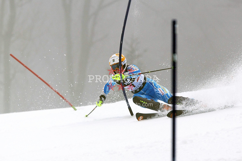 03.01.2012, Crveni Spust, Sljeme, CRO, FIS Weltcup Ski Alpin, Zagreb, Damen Slalom 1. Durchgang, im Bild Maria Pietilae−Holmner during Slalom race 1st run of FIS Ski Alpine World Cup at 'Crveni Spust' course in Sljeme, Zagreb, Croatia on 2012/01/03..EXPA Pictures © 2012, PhotoCredit: EXPA/ nph/ PIXSELL/ Sajin Strukic..***** ATTENTION - OUT OF GER, CRO *****