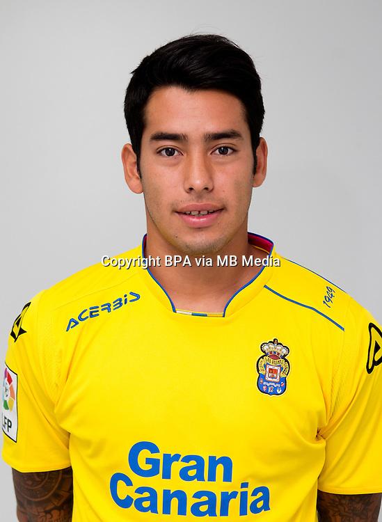 Spain - Liga BBVA 2015-2016 / <br /> ( UD Las Palmas ) - <br /> Sergio Ezequiel Araujo &quot; Sergio Araujo &quot;