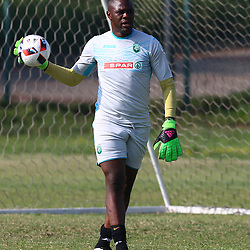 Action during a AmaZulu FC warm up match between  AmaZulu FC and Real Kings FC at People's Park AmaZulu FC training ground, Moses Mabhida Stadium in Durban, South Africa. 9h August 2017 (Photo by Steve Haag AmaZulu FC )
