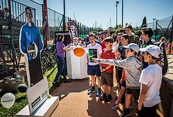 Davis Cup 2018 Europe/Africa zone Group II between Slovenia and Turkey, on April 7, 2018 in Portoroz / Portorose, Slovenia. Photo by Vid Ponikvar / Sportida