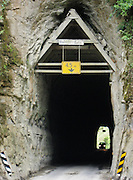 "The Moki Tunnel (also known as ""Hobbit's Hole""; 180 meters long) is found at the west end of the Tangarakau Gorge. This one-way tunnel, built in 1936, is on the Stratford to Taumarunui ""Forgotten World Highway"", North Island, New Zealand"
