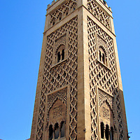 Role of Minaret in Casablanca, Morocco<br />