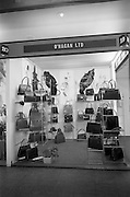 24/04/1964<br /> 04/24/1964<br /> 24 April 1964 <br /> O'Hagan Ltd. handbags stand at the Irish Export Fashion Fair at the Intercontinental Hotel, Dublin. For O'Hagan Ltd. Bray, Co. Wicklow.