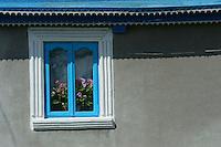 House in Letea, Danube delta rewilding area, Romania