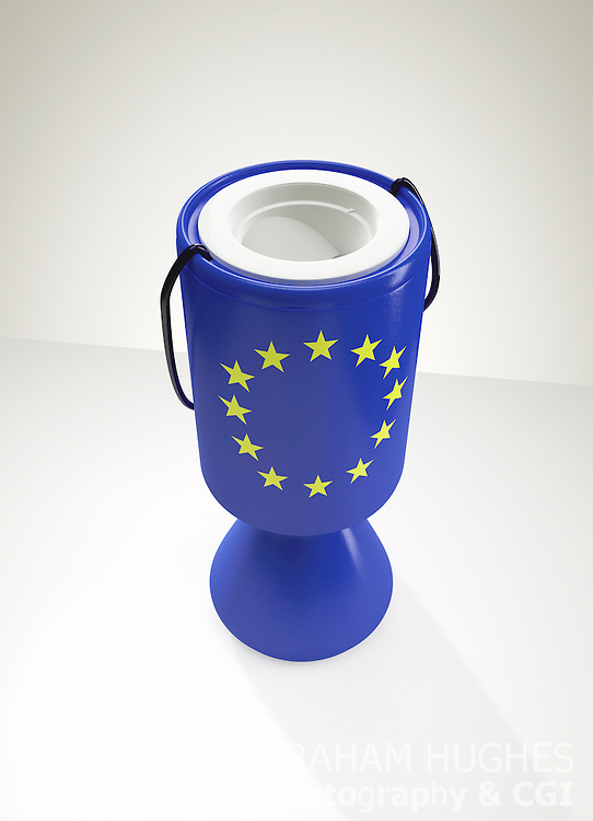 EU Charity Collection Box