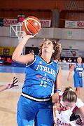 BORMIO 12 AGOSTO 2007<br /> BASKETNAZIONALE ITALIANA FEMMINILE<br /> ITALIA-BULGARIA<br /> NELLA FOTO DACIC<br /> FOTO CIAMILLO-CASTORIA