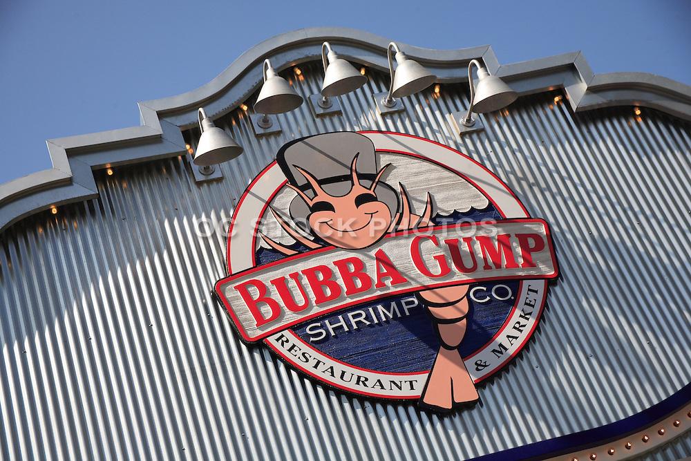 Bubba Gump Shrimp Company at the Anaheim Garden Walk