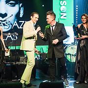 NLD/Amsterdam/20150202 - Edison Awards 2015, Thomas Azier ontvangt Award