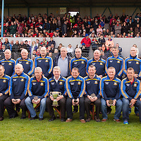 Members of the 1989 COunty Hurling FInal Champions from Sixmilebridge commemorating the 25th anniversary of their win