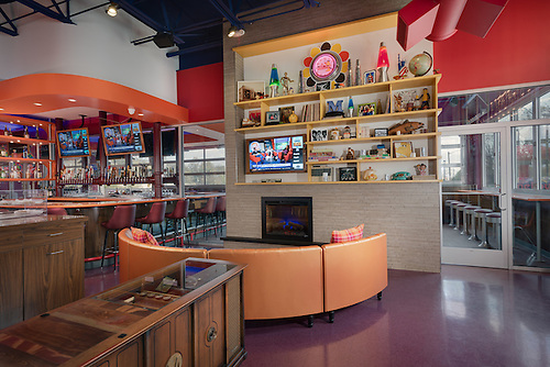Perfect Interior Photo Of Mellow Mushroom Restaurant In Roanoke Virginia By Jeffrey  Sauers Of Commercial Photographics,