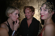 Ticky Hedley-Dent, Prince Valeri Massimo and Flora Astor. The Tatler Little Black book party in association with Chopard. Aviva loungs, BAGLIONE HOTEL. HYDE PARK GATE. LONDON SW7. 9 November 2005. ONE TIME USE ONLY - DO NOT ARCHIVE © Copyright Photograph by Dafydd Jones 66 Stockwell Park Rd. London SW9 0DA Tel 020 7733 0108 www.dafjones.com