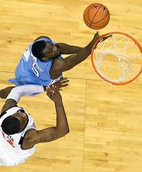 The the #5 ranked North Carolina Tar Heels defeated the Virginia Cavaliers 83-61 in NCAA Basketball at the John Paul Jones Arena on the Grounds of the University of Virginia in Charlottesville, VA on January 15, 2009.