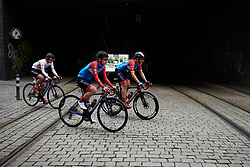 WNT Rotor Pro Cycling make their way from sign on at Lotto Thüringen Ladies Tour 2019 - Stage 1, a 98.4 km road race in Gera, Germany on May 28, 2019. Photo by Sean Robinson/velofocus.com