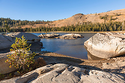 """White Rock Lake 1"" - Photograph of the Tahoe backcountry lake called White Rock Lake."