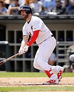 CHICAGO - JULY 01:  Matt Davidson #24 of the Chicago White Sox bats against the Texas Rangers on July 1, 2017 at Guaranteed Rate Field in Chicago, Illinois.  The Rangers defeated the White Sox 10-4.  (Photo by Ron Vesely) Subject:   Matt Davidson