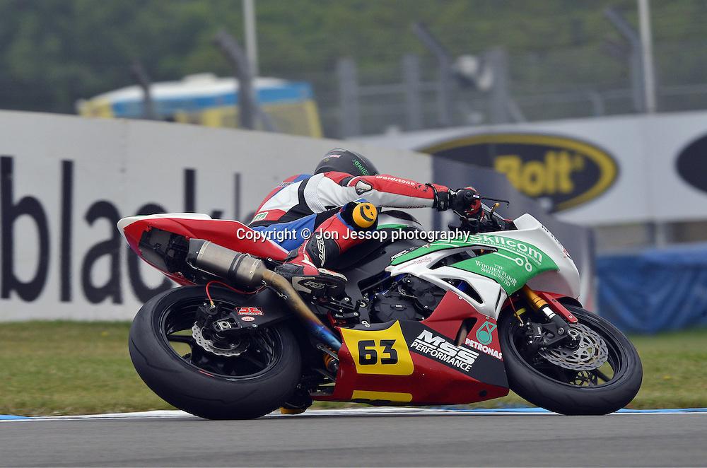#63 James White  Afterdark Motorsport Kawasaki British Supersport