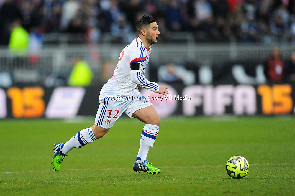 Jordan FERRI - 11.01.2015 - Lyon / Toulouse - 20eme journee de Ligue 1<br /> Photo : Jean Paul Thomas / Icon Sport