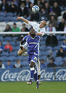Stockport - Saturday October 31st 2009: Nicholas Bignall of Stockport County in action against Jens Berthel Askou of Norwich City during the Coca Cola League One match at Edgeley Park, Stockport. (Pic by Michael SedgwickFocus Images)