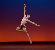 Carlos Acosta<br /> A Classical Selection at the <br /> London Coliseum, London, Great Britain <br /> 8th December 2015 <br /> <br /> Diana &amp; Acteon by Agrippina Vaganova <br /> <br /> Carlos Acosta <br /> <br /> <br /> <br /> Photograph by Elliott Franks <br /> Image licensed to Elliott Franks Photography Services