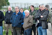 Leo McTiernan Dept Agriculture,Martin Delaney Dept Agriculture and Henry Walsh Teagasc Athenry  at the launch of Sheep 2012. Photo:Andrew Downes