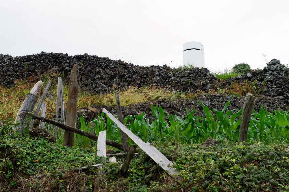 "The ""vigia"" tower on Pico island, Pico, Azores, Portugal"