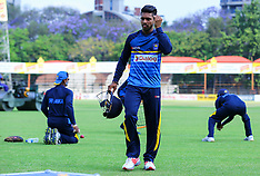 Harare- Sri Lanka Practice Session - 26 Oct 2016