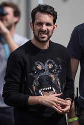 © Licensed to London News Pictures . 08/06/2014 . Heaton Park , Manchester , UK . DYNAMO the Magician , back stage . The Parklife music festival in Heaton Park Manchester as the sun comes out . Photo credit : Joel Goodman/LNP