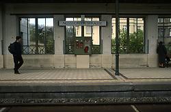 AUSTRIA VIENNA APR02 - Underground station Nussbaumstrasse.<br /> <br /> jre/Photo by Jiri Rezac<br /> <br /> &copy; Jiri Rezac 2002<br /> <br /> Contact: +44 (0) 7050 110 417<br /> Mobile:  +44 (0) 7801 337 683<br /> Office:  +44 (0) 20 8968 9635<br /> <br /> Email:   jiri@jirirezac.com<br /> Web:     www.jirirezac.com