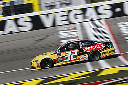 March 2, 2018 - Las Vegas, Nevada, United States of America - March 02, 2018 - Las Vegas, Nevada, USA: Matt DiBenedetto (32) brings his race car down the front stretch during practice for the Pennzoil 400 at Las Vegas Motor Speedway in Las Vegas, Nevada. (Credit Image: © Chris Owens Asp Inc/ASP via ZUMA Wire)