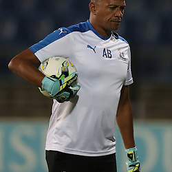 Arthur Bartman - Goalkeeper Coach of Maritzburg Utd during the 2016 Premier Soccer League match between Maritzburg Utd and Polokwane City held at the Harry Gwala Stadium in Pietermaritzburg, South Africa on the 27th September 2016<br /> <br /> Photo by:   Steve Haag / Real Time Images