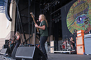 Mike Dean of Corrosion of Conformity performs at Knotfest 2015 on Saturday, October 24, 2015, at San Manuel Amphitheater in Devore, California. (Photo by: Charlie Steffens)